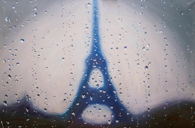 Paris. La pluie. 2010