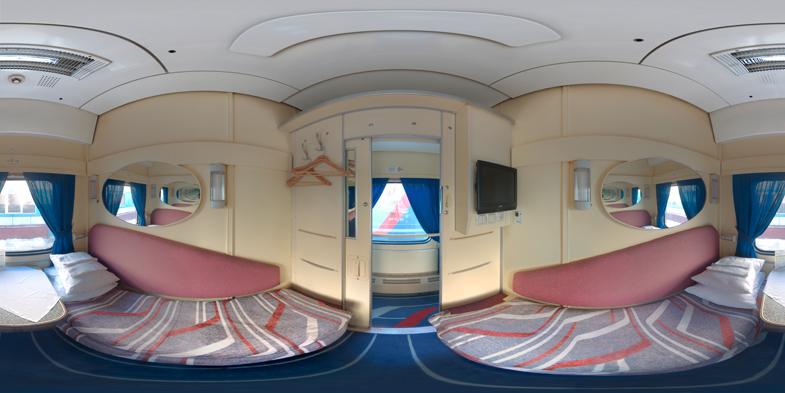 панорама поезда «Лев Толстой»