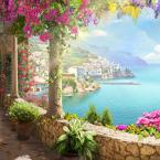 Фреска «Вид на море с террасы»